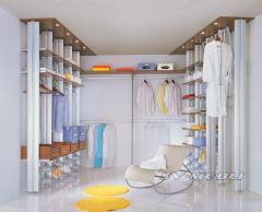 Garderoby BRAUN system