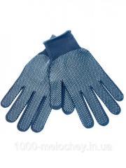 Перчатки рабочие трикотажные с точкой(тонкие)