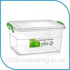 Пищевой пластиковый контейнер 5 л,  бокс для...