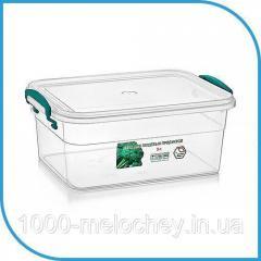 Пищевой пластиковый контейнер 3 л,  бокс для...