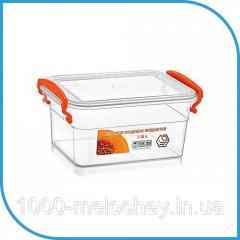 Пищевой пластиковый контейнер 1, 15 л,  бокс...