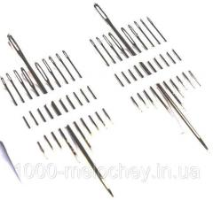 Иголки швейные Рушничок 20 штук,  иглы ручные