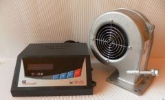 Контроллер (регулятор температуры) и приточный