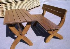 Комплект (стол и лавка)