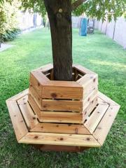 Лавочка (скамейка) вокруг дерева
