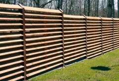 Деревянный забор «Жалюзи-2»