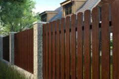 Забор «Штакетник вертикальный»