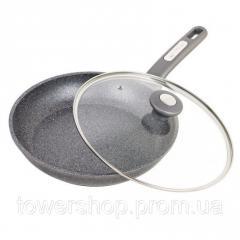 Сковорода с гранитным антипригарным покрытием с