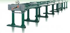 The stand hydraulic for test of rope and chain