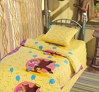 Детское постельное белье МАША И МЕДВЕДЬ ЦИРК