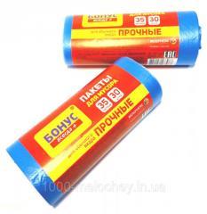 Мусорные пакеты 35 литров Бонус+ 30 шт/уп, ...