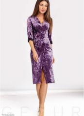 Новое велюровое платье 50-52 gepur