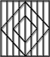 Решётки на окна квадрат 10-Эконом