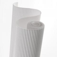 Corrugated cardboard in roll white, corrugated cardboard rolled, Production of gofrotara and packaging