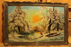 Картины(пейзажы) писаные маслом на холсте