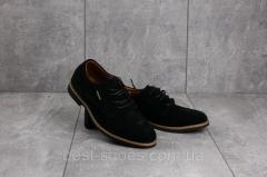 Подростковые туфли замшевые весна/осень черные