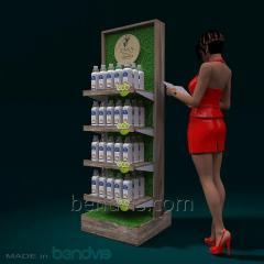 Értékesítési állványok élelmiszer