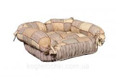 Лежак (лежанка) для домашних животных Мур-Мяу