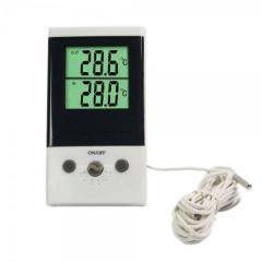 Цифровой ЖК и термометр двухрежимный DT-1