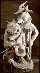 Kot Basilio and fox Alice