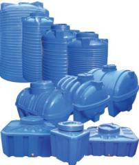 Tanks plastic, capacities for water Zaporizhia