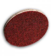 Circles sanding sheets, shlifkrug on a flypaper