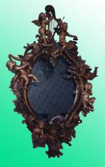 "Frame for a mirror ""Cupids"