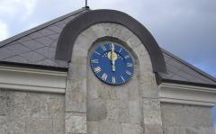 Часы-термометры светодиодные