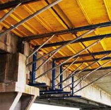 Beam and crossbar timbering OPTION