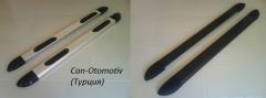 Бічний майданчик алюміній+пластик (білий,чорний)