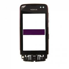 Сенсорный экран для Nokia 311 с тёмно-красной