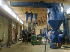 Оборудование производства гранул