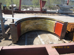 Case of the bearing of a rudorazmolny mill