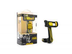 Автодержатель Remax RM-C24 черно жёлтый в решетку