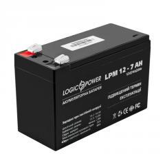 Аккумулятор кислотный AGM LogicPower LPM 12...