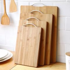 Доска кухонная разделочная бамбуковая 28х38 см
