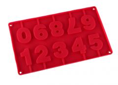 Форма силиконовая для конфет Цифры