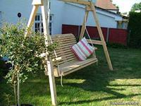 Качели деревянные для взрослых