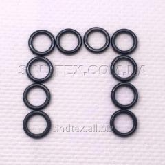 Черный 0,8 см регулятор (ПЛАСТИК) для бретелей бюстгальтера (кольцо) (ФБ-0022)