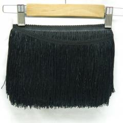 Бахрома для бальных платьев 15см х 9м -14 (черный) (653-Т-0431)