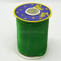 3050 Косая бейка атласная, (зеленого цвета) (6-2274-М-3050)