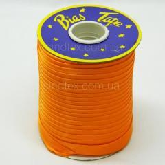 3021 Косая бейка атласная (оранжевый) (6-2274-М-3021)