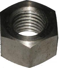 Nuts six-sided for flange connections