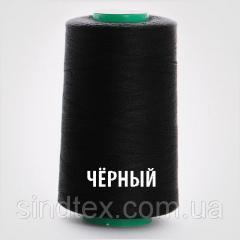 Black Нитки швейные 40/2 4000ярдов (40/2-black)