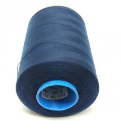 Армированные нитки Super 20/2 синие 5000 ярдов (6-2274-М-А071)