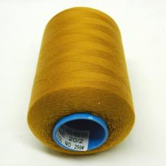 Армированные нитки Super 20/2 золотые 5000 ярдов (6-2274-М-А259)