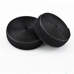 Липучка швейная пришивная 3,8 см Черная 22,5 м. (СИНДТЕКС-0043)