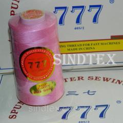 """004 Нитки """"777"""" швейные цветные 40/2 4000ярдов (от 6 бобин) (6-777-004)"""