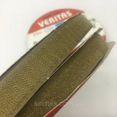 367 хаки 2 см х 25м. лента контакт (липучка) пришиваная Veritas (ВЕЛЛ-058)