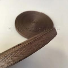 Коричневая киперная лента 1 см (киперная тесьма 10мм) (6-БК-005)
